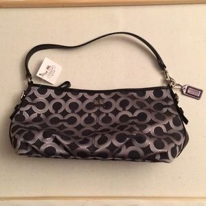 New Coach bag with tags - Black and silver
